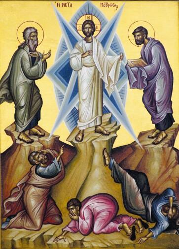 Tableau de la Transfiguration du Seigneur
