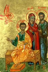 Saint Famille: Détail de l